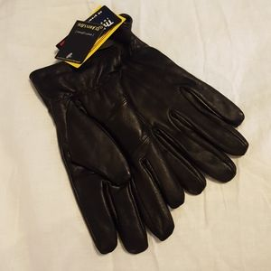 NWT Leather +Thinsulate Gloves size L